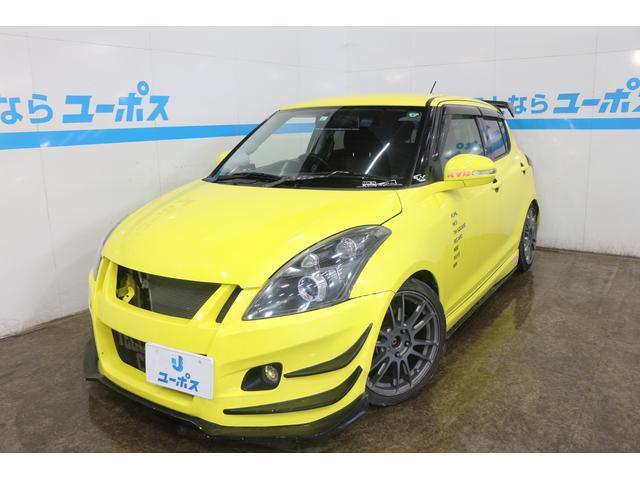 沖縄県の中古車ならスイフトスポーツ ベースグレード 6速マニュアル 柿本マフラー バックカメラ