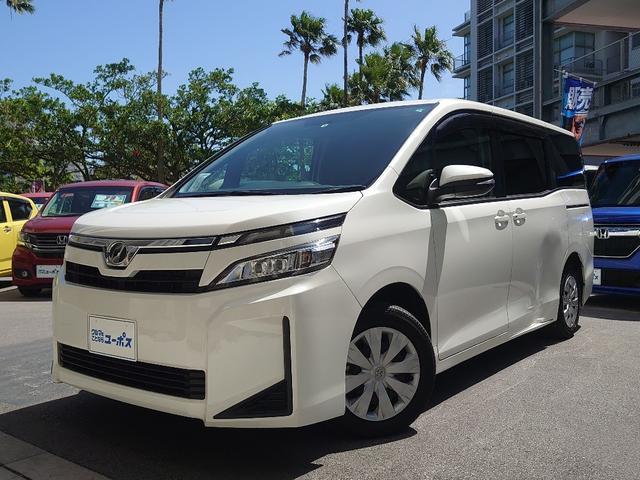 沖縄県の中古車ならヴォクシー X 後期型 OP10年保証対象車 純正SDナビ(CD・Bluetooth・AUX・ワンセグ) バックモニター