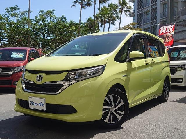 沖縄県那覇市の中古車ならフリードハイブリッド ハイブリッド・Gホンダセンシング OP10年保証対象車 社外SDナビ(CD・Bluetooth・SD・フルセグ) 両側パワ-スライドドア