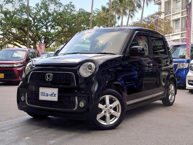 沖縄の中古車 ホンダ N-ONE 車両価格 75万円 リ済別 2013(平成25)年 7.0万km クリスタルブラックパールII