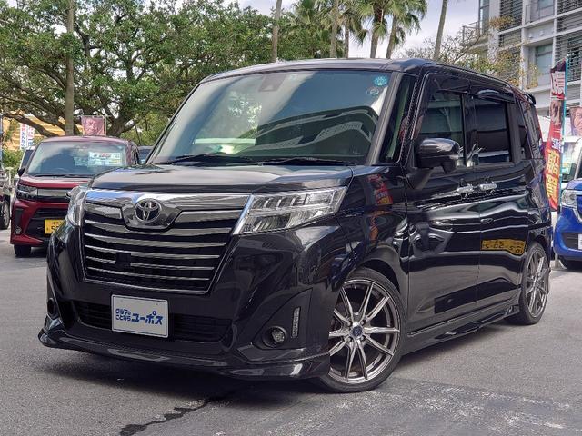 沖縄県の中古車ならルーミー カスタムG-T OP10年保証対象車 スマートアシストII イクリプス製ナビ 両側パワースライドドア LEDヘッドライト