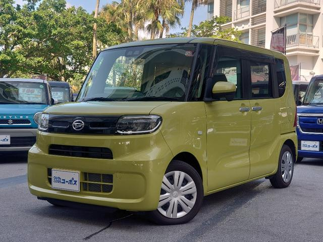 沖縄県の中古車ならタント Xターボ OP10年保証対象車 スマートアシスト ロングスライドシート 全方位モニター