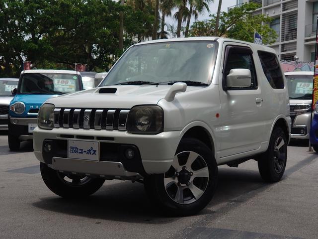 沖縄県の中古車ならジムニー クロスアドベンチャーXC 5MT 四輪駆動 純正16インチアルミホイール