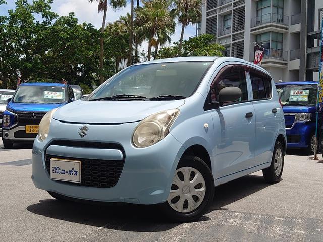 沖縄県那覇市の中古車ならアルト F 5速マニュアル 純正オーディオCD ABS キーレスキー