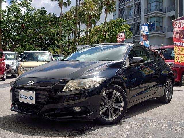 沖縄県の中古車ならCR-Z αブラックレーベル OP5年保証対象車 純正ナビ クルコン バックカメラ パドルシフト