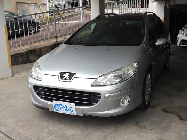 沖縄の中古車 プジョー 407 車両価格 48万円 リ済別 2008(平成20)年 8.7万km グレーM