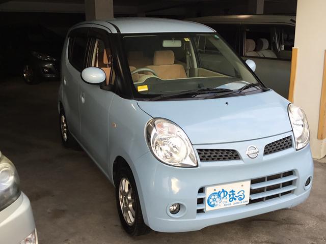 沖縄の中古車 日産 モコ 車両価格 29.8万円 リ済別 平成23年 9.0万km ブルー