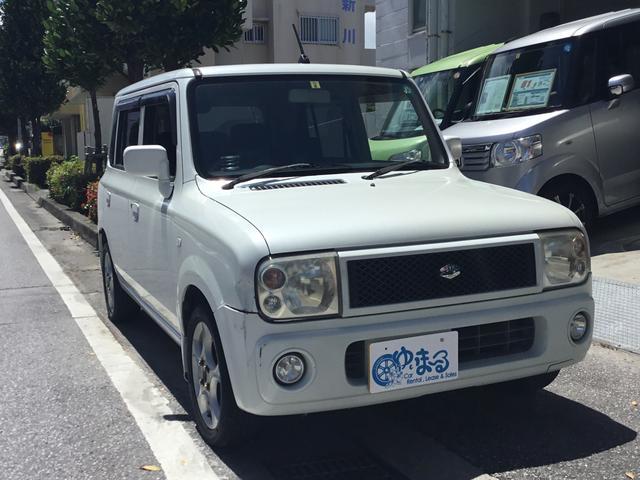 沖縄の中古車 スズキ アルトラパン 車両価格 14.8万円 リ済別 平成15年 10.0万km ホワイトM
