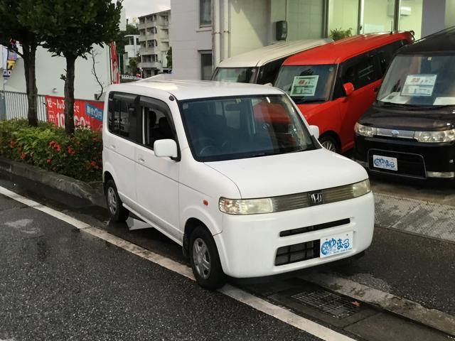 沖縄の中古車 ホンダ ザッツ 車両価格 9.8万円 リ済別 平成19年 9.8万km パールホワイト