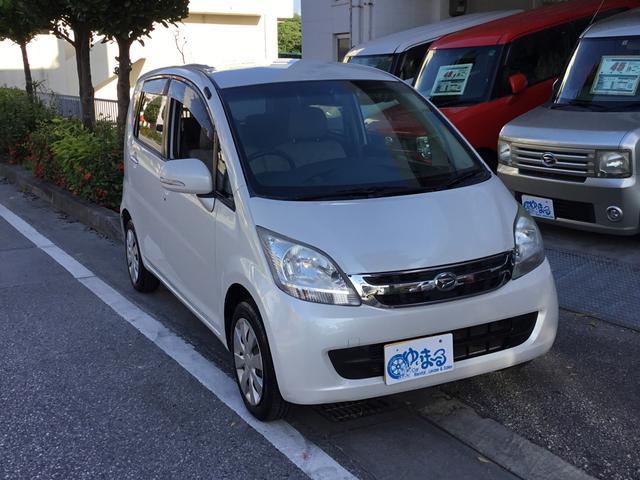 沖縄の中古車 ダイハツ ムーヴ 車両価格 29.8万円 リ済別 平成20年 6.8万km パールホワイト