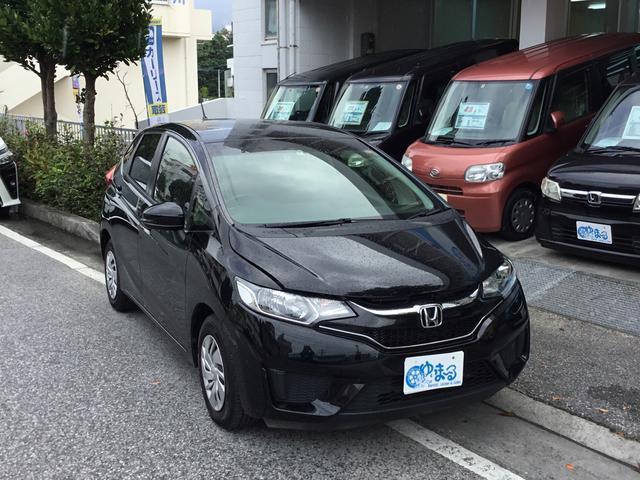 沖縄県の中古車ならフィット レンタカーアップ車・ナビ・ETC付・車検付き・保証付き・