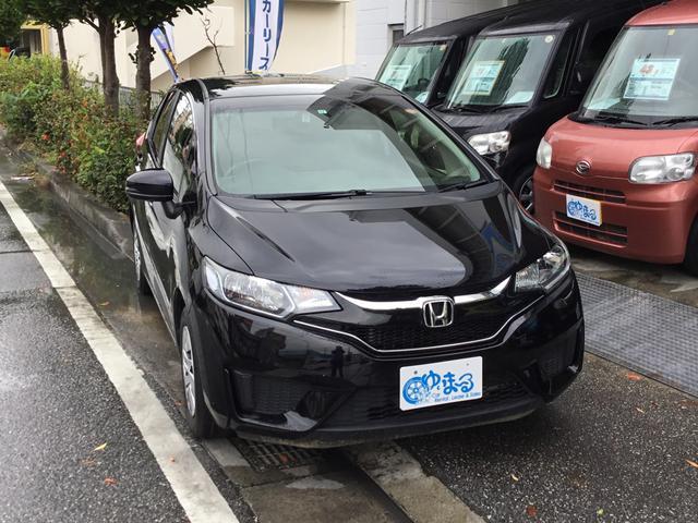 沖縄県の中古車ならフィット レンタカーアップ車・ナビ・ETC付き・車検2年付・保証ロング
