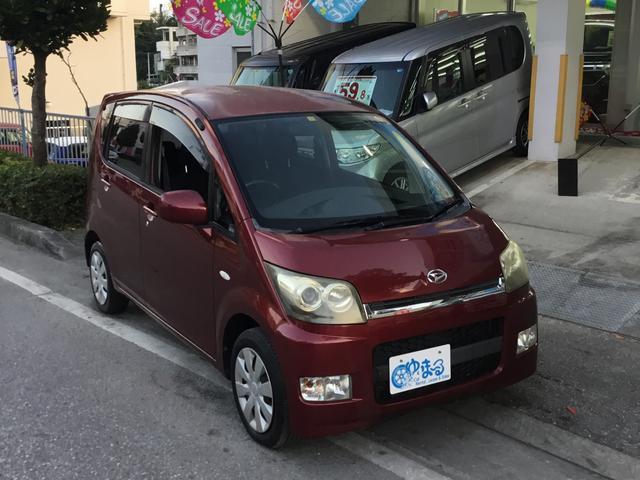 沖縄の中古車 ダイハツ ムーヴ 車両価格 18.6万円 リ済別 2006(平成18)年 10.4万km ワインM