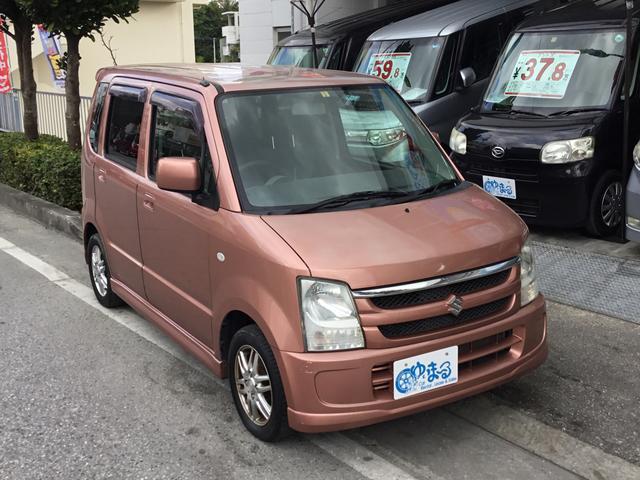 沖縄の中古車 スズキ ワゴンR 車両価格 26.8万円 リ済別 2008(平成20)年 8.8万km ピンクM