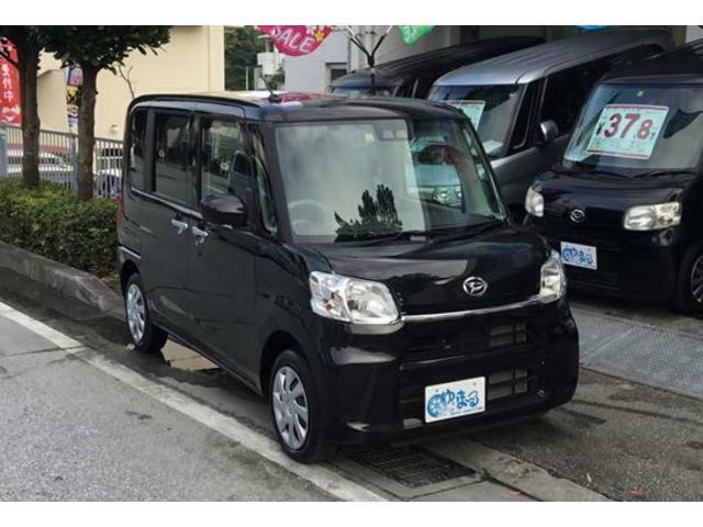 沖縄県の中古車ならタント X SAIII・レンタカーアップ車・ナビ・ETC付・保証