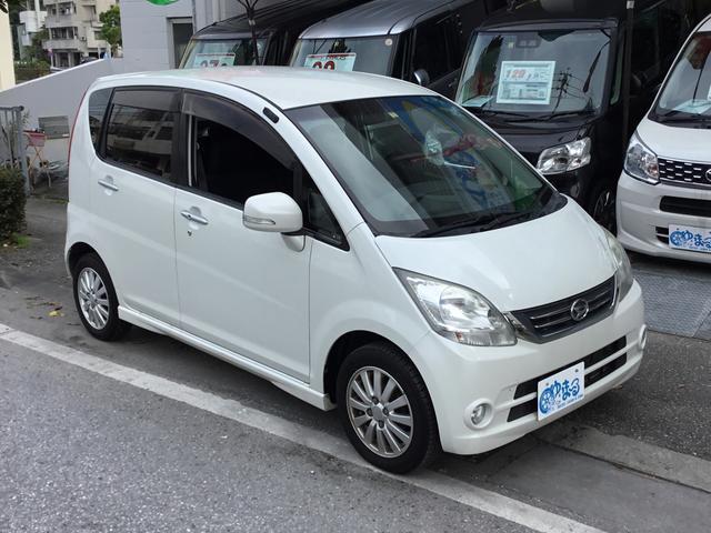沖縄の中古車 ダイハツ ムーヴ 車両価格 29.8万円 リ済別 2010(平成22)年 6.8万km パールM