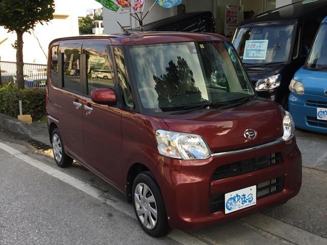 沖縄県の中古車ならタント X SAII・スマートアシスト車・ワンオーナー車・保証ロング