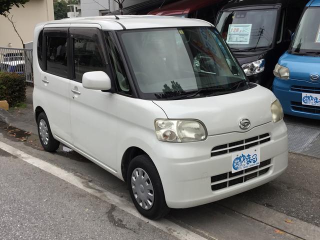 沖縄の中古車 ダイハツ タント 車両価格 29.8万円 リ済別 2009(平成21)年 10.0万km ホワイトM