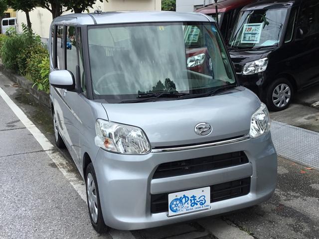 沖縄県浦添市の中古車ならタント L スライドドア・ナビ・Bluetooth・ETC・純正ホイール・レンタアップ・車検整備付き・保証付き