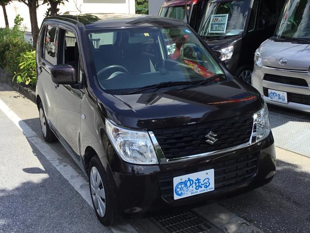 沖縄県の中古車ならワゴンR FX ナビ・ETC・Bluetooth・アイドリングストップ・禁煙車・純正ホイール・レンタアップ・車検整備付き・保証付き