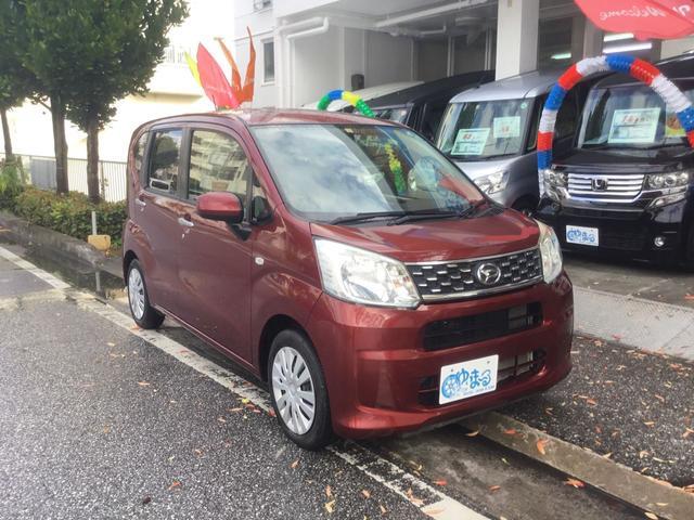 沖縄県の中古車ならムーヴ L ナビ Bluetooth CD アイドリングストップ キーレス ETC レンタアップ ベンチシート 記録簿 純正ホイール 車検整備付 保証付