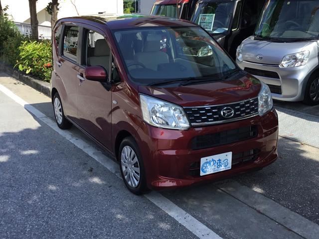 沖縄県の中古車ならムーヴ L ナビ・Bluetooth・ETC・アイドリングストップ・純正ホイール・禁煙車・レンタアップ・車検整備付き・保証付き