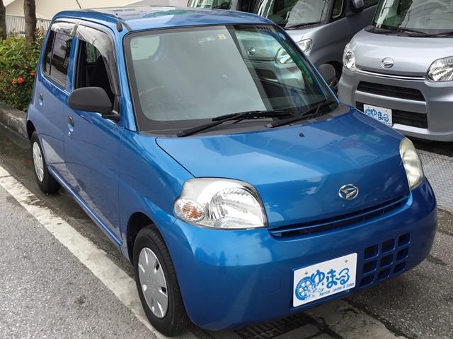 沖縄の中古車 ダイハツ エッセ 車両価格 16.8万円 リ済別 2008(平成20)年 10.8万km ブルーM
