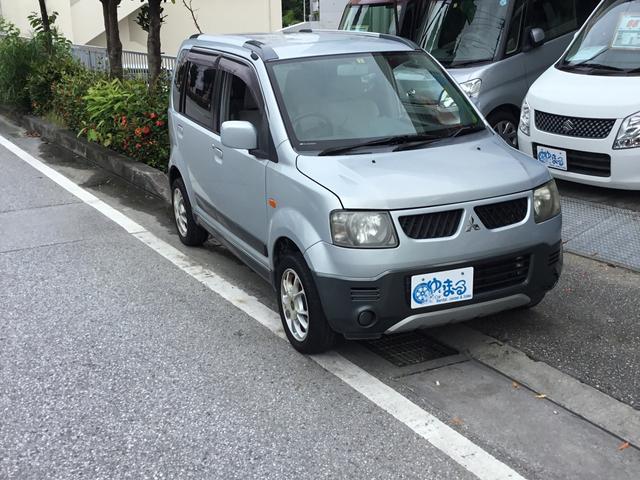 沖縄の中古車 三菱 eKアクティブ 車両価格 19.8万円 リ済別 2005(平成17)年 7.0万km グレーII