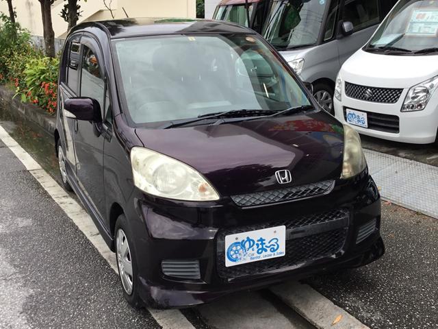 沖縄の中古車 ホンダ ライフ 車両価格 24.8万円 リ済別 2008(平成20)年 6.0万km ダークパープルM