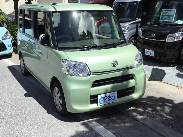 沖縄県の中古車ならタント X SAII・アップ車・オートスライド・NAVI/ETC