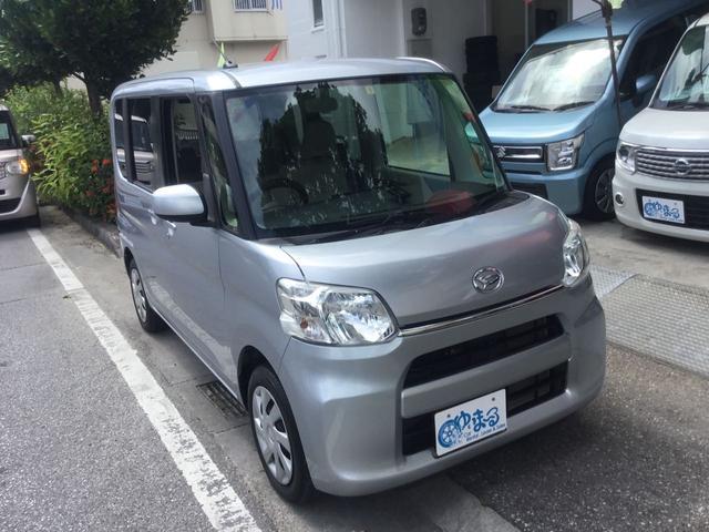 沖縄県浦添市の中古車ならタント L アイドリングストップ・ナビ・Bluetooth・キーレスエントリー・禁煙車・ベンチシート・レンタカーアップ・車検整備付き・1年保証付き