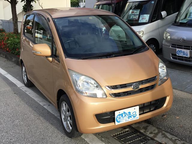 沖縄の中古車 ダイハツ ムーヴ 車両価格 26.8万円 リ済別 2008(平成20)年 3.2万km オレンジM