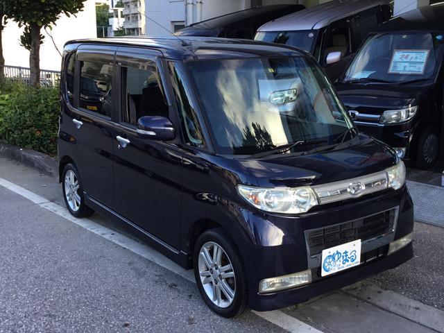 沖縄県の中古車ならタント カスタムVセレクションターボ・ワンオーナー車・保証付き
