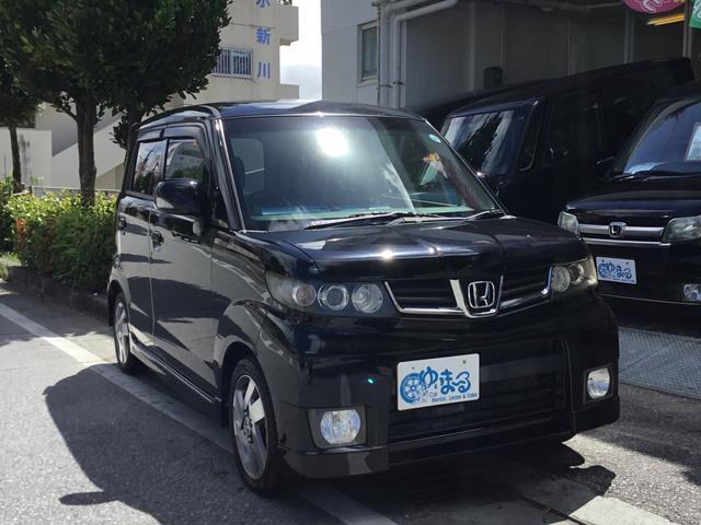 沖縄の中古車 ホンダ ゼストスパーク 車両価格 23.8万円 リ済別 2009(平成21)年 13.7万km ブラックM