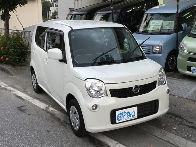 沖縄県浦添市の中古車ならモコ S・ワンオーナー車・記録簿