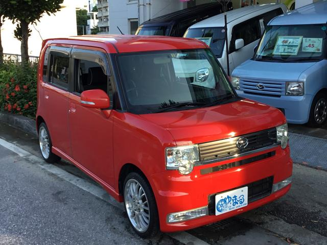 沖縄の中古車 ダイハツ ムーヴコンテ 車両価格 29.8万円 リ済別 2009(平成21)年 14.0万km レッド