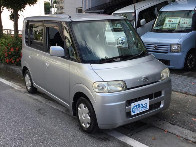 沖縄の中古車 ダイハツ タント 車両価格 20万円 リ済別 2006(平成18)年 8.5万km グレーM
