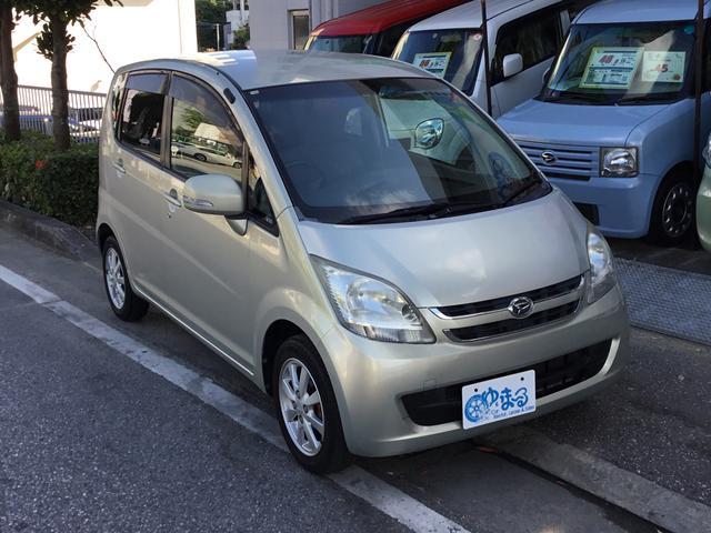 沖縄の中古車 ダイハツ ムーヴ 車両価格 22.9万円 リ済別 2007(平成19)年 6.4万km ライトゴールドM