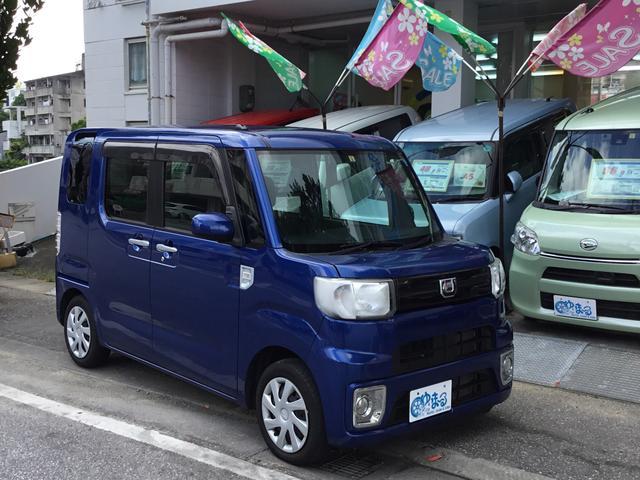 沖縄県浦添市の中古車ならウェイク D・ワンオーナー車・記録簿・ロング保証