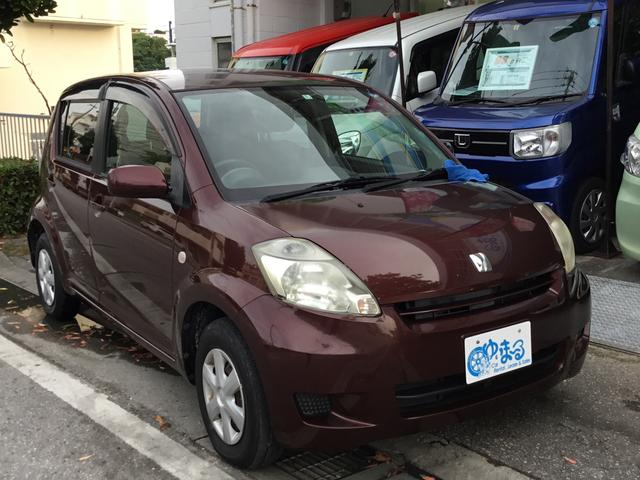 沖縄の中古車 トヨタ パッソ 車両価格 16.8万円 リ済別 2008(平成20)年 5.7万km ブラウンM