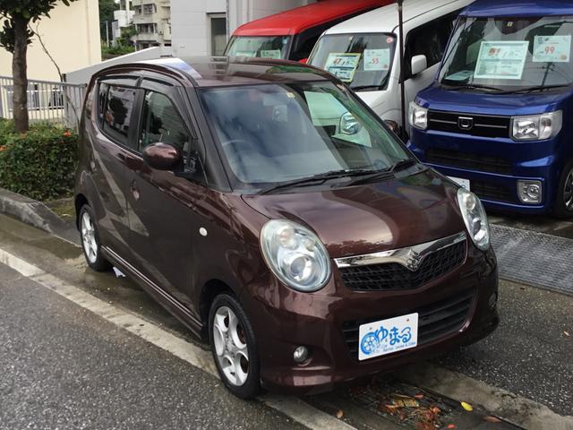 沖縄の中古車 スズキ MRワゴン 車両価格 28.6万円 リ済別 2008(平成20)年 10.8万km ブラウンM