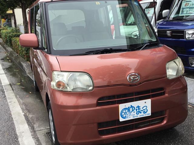 沖縄県の中古車ならタント L・2年車検整備付き・記録簿・保証付き・左スライドドア