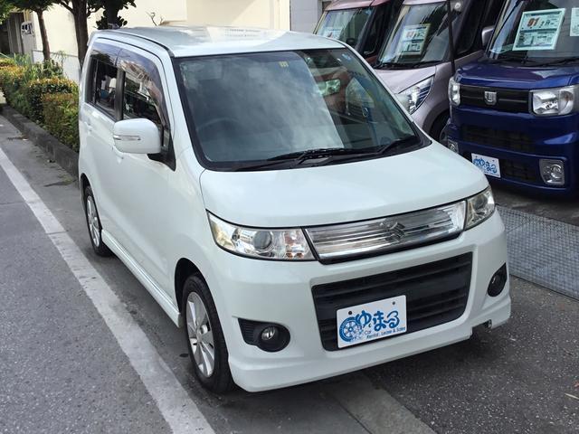 沖縄県浦添市の中古車ならワゴンRスティングレー TS・ワンオーナー車・記録簿・保証