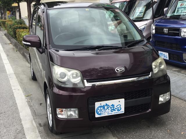 沖縄の中古車 ダイハツ ムーヴ 車両価格 24.8万円 リ済別 2006(平成18)年 10.9万km パープルM