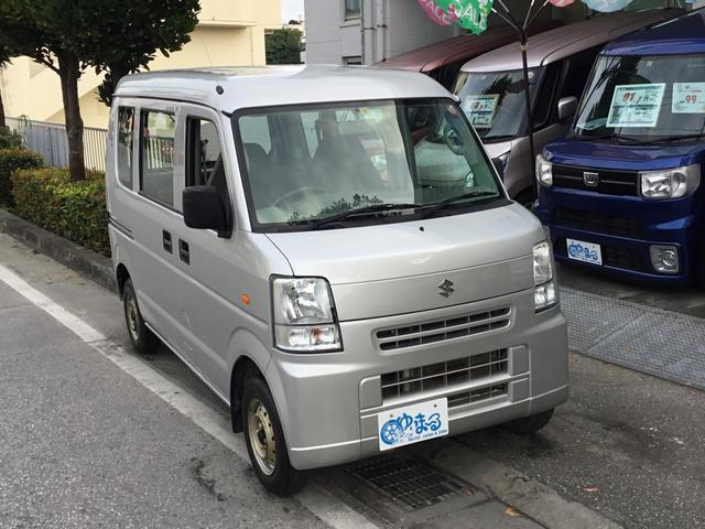 沖縄県浦添市の中古車ならエブリイ PA・ワンオーナー車・記録簿・保証付き