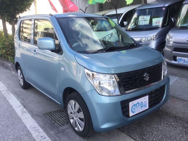 沖縄県浦添市の中古車ならワゴンR FX レンタカーアップ車・ナビ・ETC付・ブルートゥース対ナビ・記録簿・ロング保証・UVカットガラス・プライバシーガラス