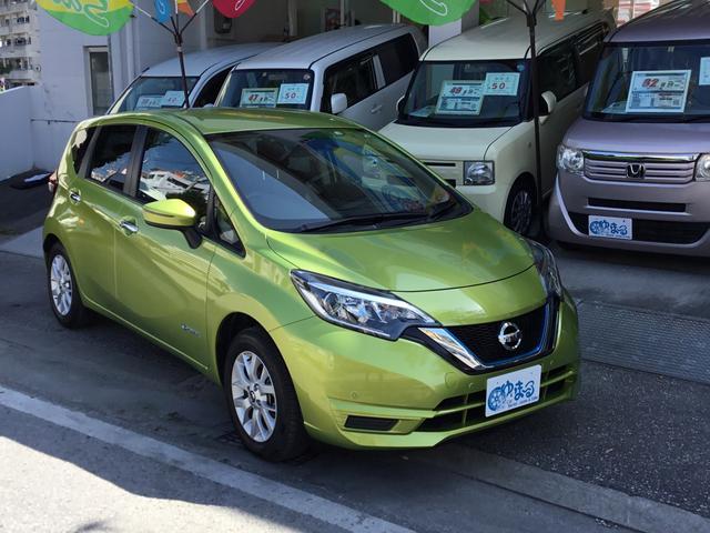 沖縄県の中古車ならノート e-パワー X Vセレクション・レンタアップ車・未使用