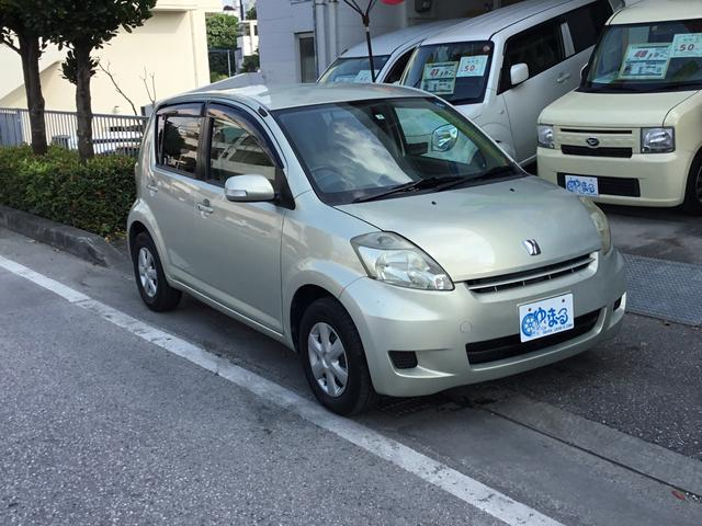 沖縄県浦添市の中古車ならパッソ X Fパッケージ・記録簿・保証付き・
