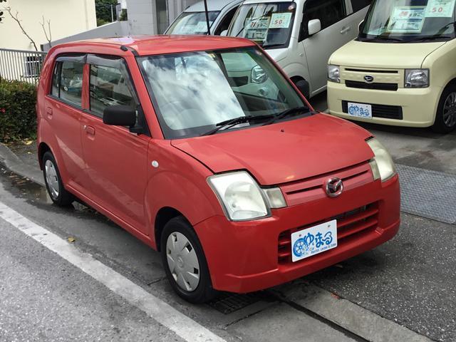沖縄県浦添市の中古車ならキャロル G・記録簿・保証付き