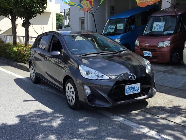 沖縄県の中古車ならアクア G・レンタアップ車・NAVI/ETC付・保証2年付き
